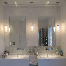 bathroom vanity pendant lighting. Epic Bathrooms Hanging Lighting Fixtures Ideas : Jangbiro Pendant Lights Over Bathroom Vanity U