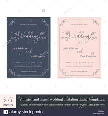 wedding invitation design templates hand drawn doodle wedding invitations design template hand drawn