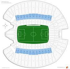 Centurylink Field Seating Chart Centurylink Stadium Map