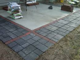 Brilliant Patio Pavers Lowes Expanded With Paversflagstones Httpslickdealsnet Throughout Impressive Design