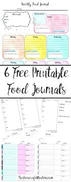 Diet And Exercise Journal Printable Food Diary Online Diet And Exercise Journal Template Recent