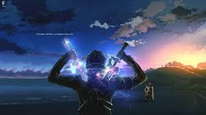 Kirito with two swords (Sword Art ...