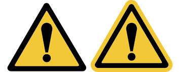 u s safety sign decal the new ansi z update this photo is an example of the safety alerty symbol formatted like the iso general warning