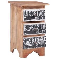 <b>Bedside Cabinet</b> 30x30x51 cm Solid Reclaimed Wood Sale, Price ...