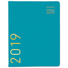 At A Glance Monthly Planner 2019 At A Glance Contemporary Monthly Planner Aag70250x42