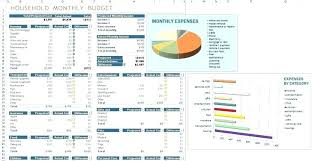 Personal Household Budget Personal Home Budget Template Personal Budget Spreadsheet By