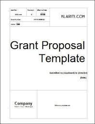 Grant Template Instant Download For Work Sample Resume Grant