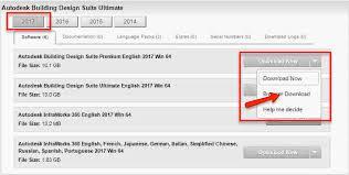 Autodesk Building Design Suite Premium 2017 Download Guide To Downloading Autodesk Software Cadline Community