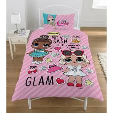 glam single duvet set