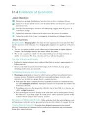 as well Introduction To Evolution Worksheet 1 Name   ID Pr      Chegg in addition Chapter 16 worksheets together with EVIDENCE OF EVOLUTION LAB ANALYSIS NAME additionally Evidence of Evolution  Don't panic about the length  Out of the 27 further worksheet  Evolution Worksheet  Mytourvn Worksheet Study Site additionally Evidence For Evolution Worksheet Worksheets together with Chapter 16 worksheets moreover Evidence of Evolution   Angel Henn  2    Evidence of Evolution together with  likewise Evolution Concept Map. on evidence of evolution worksheet answers