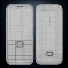 Nokia 207 Nokia 208 3D Model $20 - .max ...