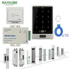 RAYKUBE <b>RFID Door Access Control</b> System DIY Kit With Electronic ...