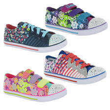 Skechers Light Up Children S Shoes Details About Skechers Memory Foam Twinkle Toes Light Up Girls Kids Shoes Trainers Pumps