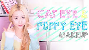 difference between cat and puppy dog eye makeup the wonderful world of wengie