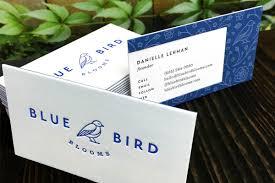 Duplex Business Cards Thick Rigid Cards