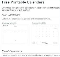 Basic Calendars Basic Calendar Template Sharedvisionplanning Us