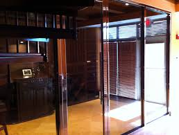 insulated basement door glass