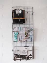 Wall Mounted Magazine Holders