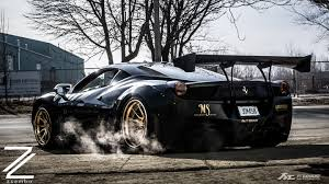 black and gold ferrari. 458-italia_lb-works_street_black\u0026gold_fi-exhaust_001 458-italia_lb-works_canada_black\u0026gold_fi-exhaust_001 black and gold ferrari