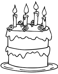 Small Picture Unique Birthday Cake Coloring Pages Printable 13 On Coloring Pages