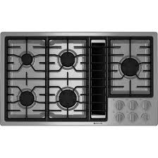 cooktop with vent. JGD3536WS MAIN Main Cooktop With Vent R
