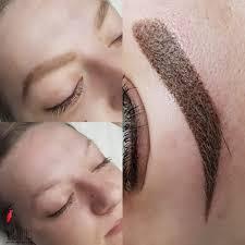 фото работ перманентный макияж татуаж бровей челябинск екатеринбург