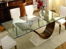 glass top cover for dining table glass top dining room table glass top table with wooden