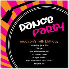 Dance Invitation Ideas Dance Party Invitations And Invitation Template On Beauty Party