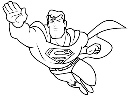 Small Picture Free Printable Superman Coloring Pages Hero in The City