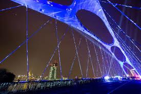 latest technology in lighting. Osthafenbridge (Source - Messe Frankfurt Exhibition/Jochen Günther) Latest Technology In Lighting C