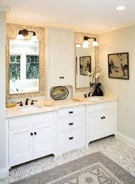 countertop vanity tower vanity tower top bathroom with ideas spaces