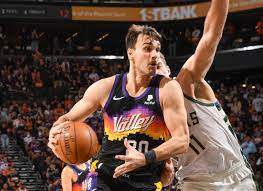 Phoenix Suns forward Dario Saric exits ...
