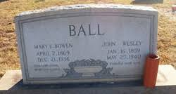 John Wesley Ball (1859-1940) - Find A Grave Memorial
