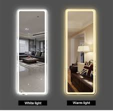 full length hotel led bathroom mirror