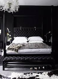 black bedroom design ideas for women. Jet-black In Your Bedroom Is Cool And Calming Will Ensure That Drifting Off Black Design Ideas For Women
