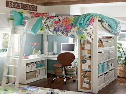 Image of: Loft Bed with Desk