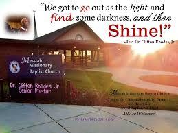 Messiah Baptist Church- GR, MI; Rev Dr Clifton Rhodes, Jr, Pastor - Home |  Facebook