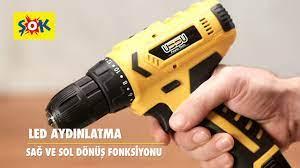 Ussu 12V Akülü Matkap hem ŞOK'ta hem de Cepte ŞOK'ta #ŞOKUcuz! - YouTube