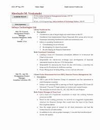 Descargar Doc Project Manager Resume Sample Doc India New