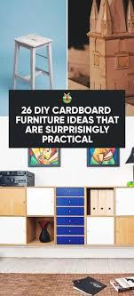 Diy cardboard furniture Shoe Organizer Cardboard Cardboard Furniture Ideas Morningchores 26 Diy Cardboard Furniture Ideas That Are Surprisingly Practical
