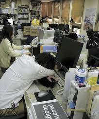japanese companies encouraging power naps at work business nap office relieve