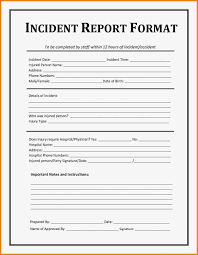 Incident Report Sample Format Unique Security Guard Report Example Security Guard Incident Report Sample