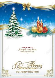 free beautiful christmas cards beautiful christmas card with a christmas tree and candles royalty