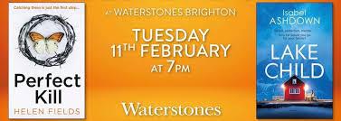 Isabel Ashdown and Helen Fields: Waterstones Brighton – Isabel Ashdown
