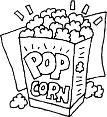 Small Picture Popcorn Coloring Pages GetColoringPagescom