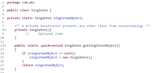 Singleton Design Pattern In Java Enchanting Java Singleton Design Pattern