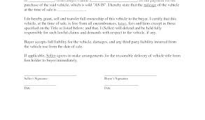 Vehicle Sale Receipt Template Car Sale Template
