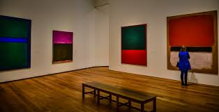 mark rothko room at the national gallery of art east wing washington dc