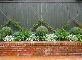 brick garden edging. recycled brick garden edging with red