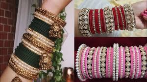 Bridal Bangle Set Designs Bangles Set Design Ideas Bangles Pattern Ideas Wedding Glass Bangles Ideas